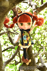 "Takara 8"" NEO CWC Middie Blythe Doll Jolly Jumbly Pippilotta"