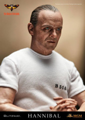 BLITZWAY Hannibal Lecter White Prison Uniform version 1/6 Scale Collectible Figure BW- UMS10301
