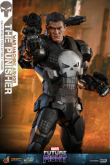 Hot Toys VGM33D28 The Punisher (War Machine Armor) Marvel Future Fight - 1/6th scale Collectible Figure