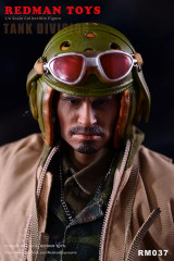 REDMAN TOYS RM037 FURY TANK DIVISION 1/6 Collectible Figure