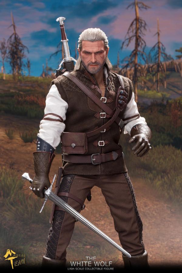 MTTOYS 1//6th MT006 White Wolf Demon Hunter Geralt Armor Ver Figure Pre-sale