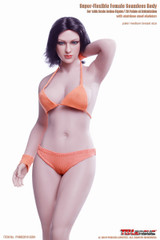 TBLeague S28A 1/6 Female Seamless Buxom Body Pale & Medium Breast Size