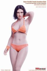 TBLeague S28A 1/6 Female Seamless Buxom Body Pale & Medium Breast Size