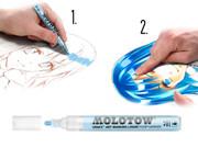 Molotow MASKING LIQUID Marker Pen -2mm,4mm