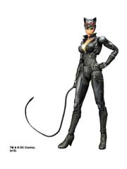 Batman Catwoman Arkham City Action Figure by Play Arts Kai Square Enix