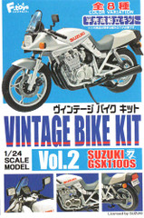 Suzuki GSX1100S Vintage Bike 1/24 Model Box set x10 Vol 2 by F toys