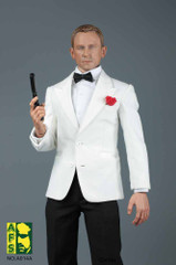 AFS 1/6 Royal Agent Suit Set  (White and Dark Blue Colour)