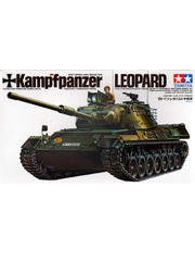 Military Miniature 1/35 West Germany Leopard Medium Tank 35064 by Tamiya