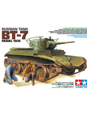 Military Miniature 1/35 BT-7 Russian Tank 35309 by Tamiya