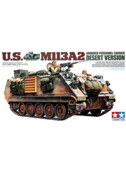 Military Miniature 1/35 US M113A2 APC Desert Version 35265 by Tamiya