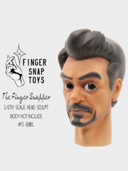 Finger Snap Toys 1/6 Scale Cartoon Head Sculpt Tony FS6901