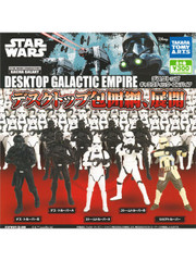 Star Wars Rogue One Desktop Galactic Empire Death trooper Gashapon figure set by Takara Tomy