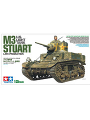 Military Miniature 1/35 US M3 Stuart Late Production Light Tank 35360 by Tamiya
