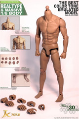 JXtoys JXS03 1/6 Male Muscular Figure Best colour tone body