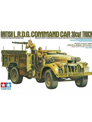 Military Miniature 1/35 British LRDG Command Car 30cwt Truck 35092 by Tamiya