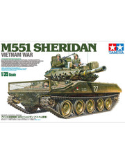 Military Miniature 1/35 M551 Sheridan Armored Recon Tank Vietnam War 35365 by Tamiya