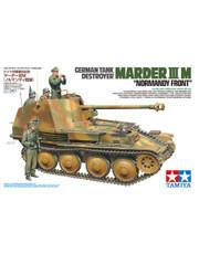 Military Miniature 1/35 Marder III M German Destroyer Tank 35364 by Tamiya