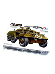 Military Miniature 1/35 US M20 Armored Utility Scout Car 35234 by Tamiya