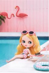 Blythe Fani Flamingo CWC Neo by Takara