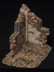 VTS TOYS VG003 1/12 Simulated War Ruins Scene Platform Diorama