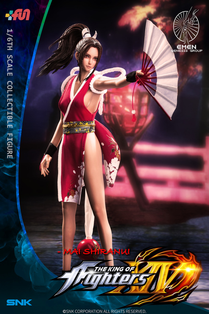 Genesis Collectibles Mai Shiranui The King Of Fighters Xiv 1 6th