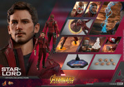Hot Toys MMS539 Avengers: Infinity War - 1/6th scale Star-Lord Collectible Figure