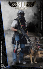 Soldier Story 1/12 Scale SSM003 HK SDU Canine Handler Figure