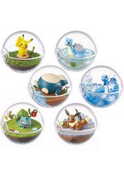 Pokemon Terrarium Collection 1 Pokeball Full Set by Re-ment