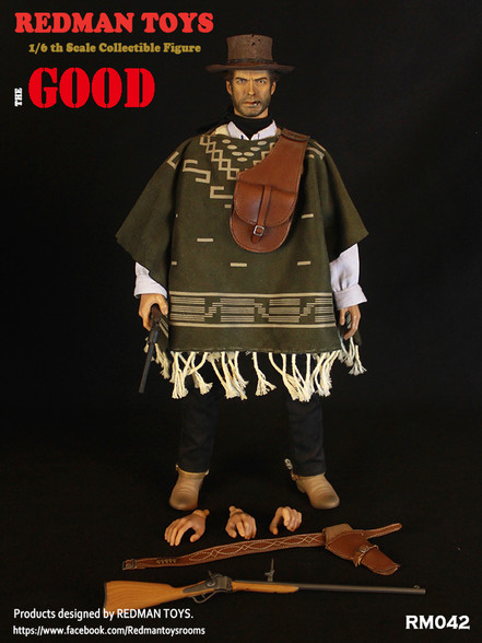 NEW PRODUCT: REDMAN TOYS New: 1/6 Western Cowboy - The Bad RM042-7__77000.1562658872.490.588
