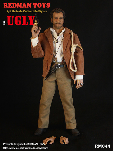 NEW PRODUCT: REDMAN TOYS New: 1/6 Western Cowboy - The Bad RM044-5__42777.1562660307.490.588