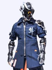 Warhourse Toys 1:6 Cyberpunk Techgear FALCON (DELUXE VERSION)