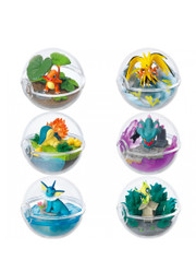 Pokemon Terrarium Collection 3 Pokeball Full Set by Re-ment