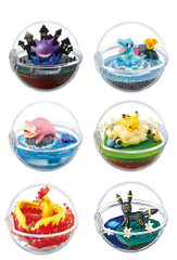 Pokemon Terrarium Collection 4 Pokeball Full Set by Re-ment