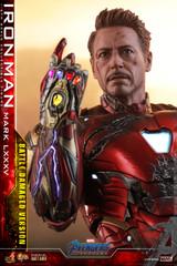 Hot Toys MMS543D33 Avengers: Endgame  1/6th scale Iron Man Mark LXXXV (Battle Damaged Version) Collectible Figure