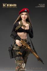 VERYCOOL VCF-2050 1/6 KERR - FLECKTARN WOMEN SOLDIER Action Figure
