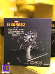 King Arts MPS031 1:1 Iron Man Arc Reactor Pepper Potts Gift (Diecast Replica)