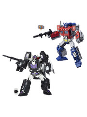 Transformers Power of the Prime POTP Optimus + Rodimus Unicronus Action Figure by Hasbro