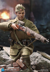 DID 1/6 WWII Russian Sniper-Vasily ZAYTSEV R80139