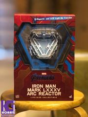 Hot Toys LMS010 Iron Man Mark LXXXV Arc Reactor Avengers: Endgame Collectible