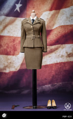 POPTOYS X31 1/6 Scale WWII US Army Female Agent Uniform