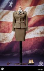 POPTOYS X31 1/6 Scale WWII US Army Female Agent Uniform