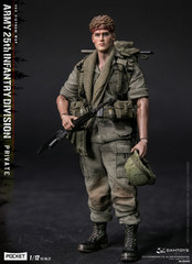 DAMTOYS 1/12 PES004 POCKET ELITE SERIS ARMY 25th Infantry Division Private Figure