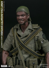 DAMTOYS PES010 1/12 POCKET ELITE SERIES  ARMY 25th Infantry Division M60 GUNNER