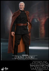 Hot Toys MMS496 COUNT DOOKU Star War Episode II Attack of the Clones 1/6th scale Collectible Figure