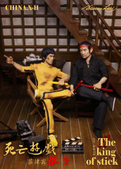 CHINA.X-H Dan Inosanto The King of Stick 1/6 Figure