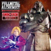 Threezero 1/6 FULLMETAL ALCHEMIST BROTHERHOOD ALPHONSE ELRIC & EDWARD ELRIC [Twin-Pack]