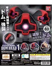 Gundam Dom Head MS-09 Exceed Model Set by Bandai