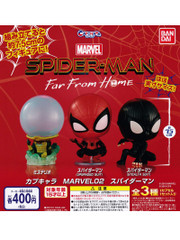 Bandai Capchara Spider-man Far From Home Mysterio Spiderman Gashapon Figure Set