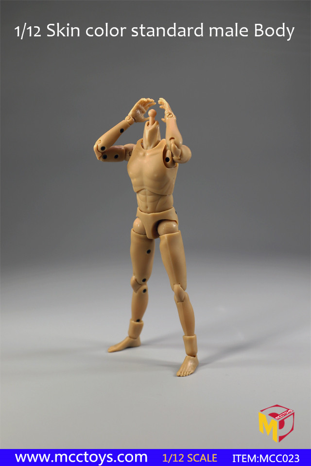 MCCToys 1//12 Scale MCC023 Narrow Shoulder 1.0  Standard Male Figure Body Dolls