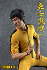 CHINA.X-H Bruce Lee 1/6 statue Game of Death ( 2 head sculpt set)